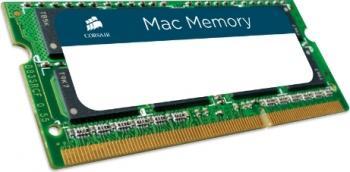 Memorie Laptop Corsair 8GB DDR3 1333MHz CL9 MAC Memorii Laptop