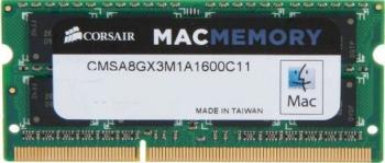 Memorie Laptop Corsair 8GB DDR3 1600MHz CL11 Mac Memorii Laptop