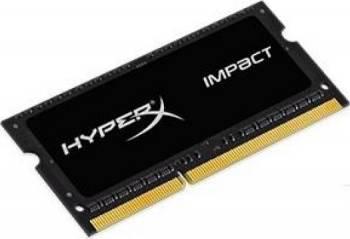 Memorie Laptop DDR3L SODIMM Kingston HyperX Impact Black 8GB 1866MHz CL11 1.35V Memorii Laptop