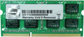 Memorie Laptop G.Skill F3 4GB DDR3 1600MHz CL11 Memorii Laptop