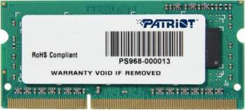 Memorie Laptop Patriot 4GB DDR3 1600MHz Memorii Laptop