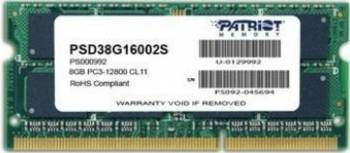 Memorie Laptop Patriot 8GB DDR3 1600MHz CL11 Memorii Laptop