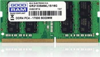 pret preturi Memorie Laptop SODIMM Goodram DDR4 8GB 2133MHz Cl15 SR 1.2V