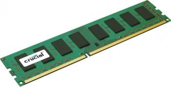Memorie Micron Crucial 4GB DDR3 1600MHz CL11 Unbuffered