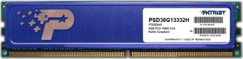 Memorie Patriot 8GB DDR3 1333MHz CL9 1.5V Radiator Memorii