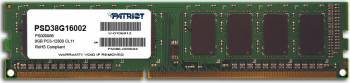 Memorie Patriot 8GB DDR3 1600MHz CL11 Memorii