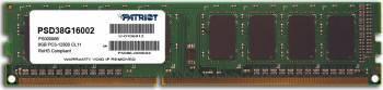 Memorie Patriot 8GB DDR3 1600MHz CL11 Memorii