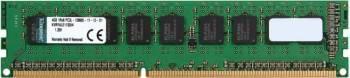 Memorie Server Kingston 4GB DDR3 1600MHz CL11 1.35 V UDIMM Memorii Server