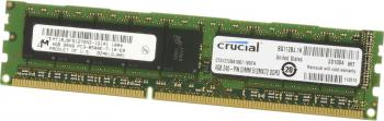 Memorie Server Micron Crucial 4GB DDR3 1600MHz CL11 Registered