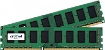 Memorie Server Micron Crucial 8GB Kit 2x4GB DDR3 1600 MTS CL11 Memorii Server