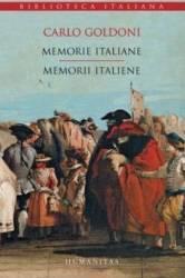 Memorii italiene. Memorie italiane - Carlo Goldoni Carti