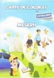Meserii - Carte de colorat
