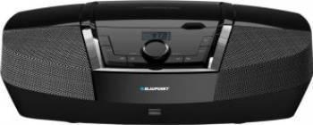 Microsistem audio Blaupunkt Boombox BB12BK CD Player Tuner FM USB 2x2W Black Sisteme Audio