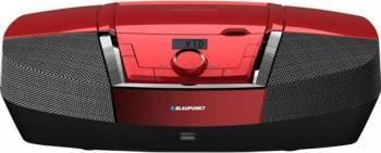 Microsistem audio Blaupunkt Boombox BB12RD CD Player Tuner FM USB 2x2W Red Sisteme Audio