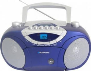 Microsistem audio Blaupunkt Boombox BB15BL CD Player USB 2x2W blue Sisteme Audio