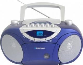 Microsistem audio Blaupunkt Boombox BB15BL CD Player USB 2x2W blue Sisteme Audio