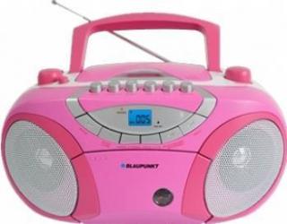 Microsistem audio Blaupunkt Boombox BB15PK CD Player tuner FM USB 2x2W pink Sisteme Audio