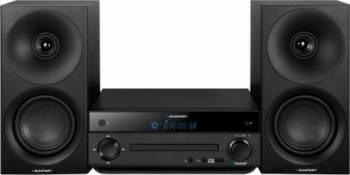 Microsistem audio Blaupunkt MS30BT CD Player Tuner FM Bluetooth USB 2x20W Negru Sisteme Audio