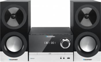 Microsistem audio Blaupunkt MS40BT Edition CD Player Tuner FM Bluetooth USB 2x50W Sisteme Audio
