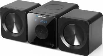 Microsistem audio Blaupunkt MS5BK CD Player USB 2X5W Black Sisteme Audio