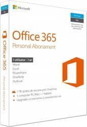 Microsoft Office 365 Personal 32-64 Engleza 1 PC 1 An Retail Aplicatii desktop