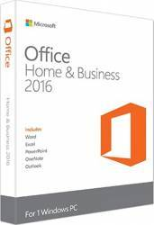 Microsoft Office Home and Business 2016 Win English EuroZone
