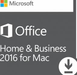 Microsoft Office Mac Home Business 1PK 2016 AllLng EuroZone Licenta Electronica Aplicatii desktop