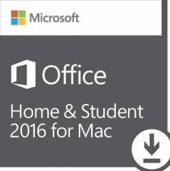 Microsoft Office Mac Home Student 2016 AllLng EuroZone Licenta Electronica Aplicatii desktop