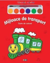 Mijloace de transport - Miracolul culorilor - Carte de colorat