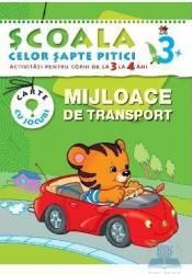 Mijloace de transport 3-4 ani - Carte Cu Jocuri