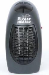Mini aeroterma Mediashop Starlyf Fast Heater 400W Termostat Neagra Aparate de incalzire