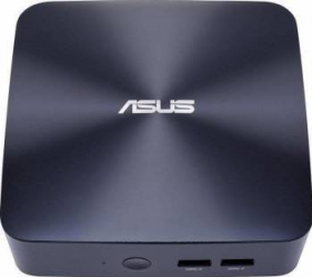 Mini-PC Asus Vivo Mini UN65U-BM008M Intel Core i3-7100 noHDD noRAM Calculatoare Desktop