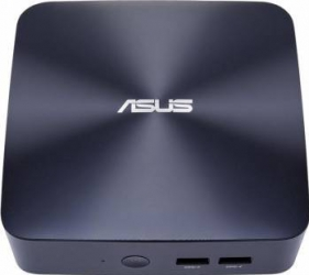 Mini-PC Asus VivoMini UN65U-M005M Intel Core i3-7100U 128GB 4GB Calculatoare Desktop