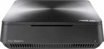Mini-PC Asus VivoMini VM65-G095M Intel Core Kaby Lake i3-7100U 128GB SSD 4GB DDR4 Iron Gray Calculatoare Desktop