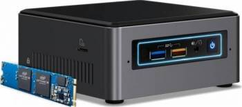 Mini-PC Intel NUC 7 Home Intel Core i3-7100U 1TB 4GB + Intel Optane 16GB Win10 Calculatoare Desktop
