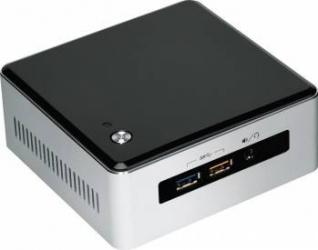 Mini PC Intel NUC Kit BOXNUC5I5RYH i5-5250U noHDD noRAM Calculatoare Desktop