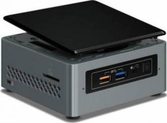 Mini-PC Intel NUC Kit NUC6CAYH Intel Celeron Dual Core Celeron J3455 noHDD noRAM 3ani garantie Calculatoare Desktop