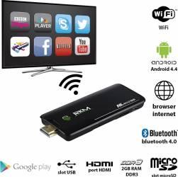 Mini PC Rikomagic MK802 IV Quad Core 1.4 GHz 2GB DDR3 Android 4.4 TV Box