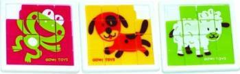 Mini puzzle cu animalute