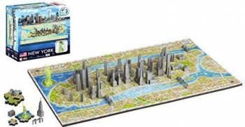 Mini Puzzle New York 4D Cityscape Jucarii Interactive