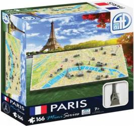 Mini Puzzle Paris 4D Cityscape Jucarii Interactive