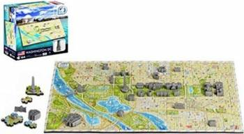 Mini Puzzle Washington DC 4D Cityscape Jucarii Interactive