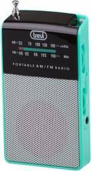 Mini Radio Portabil Trevi RA 725 B Verde Ceasuri si Radio cu ceas