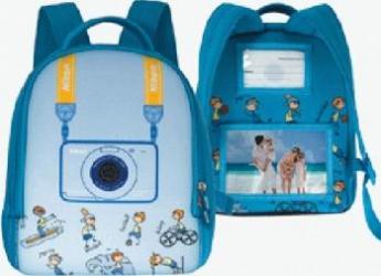 Mini Rucsac Nikon CS-L05 pt CoolPix S30 Blue Huse   Genti
