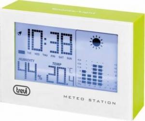 Mini Statie Meteo cu ceas Trevi ME 3103 Verde Termometre si Statii meteo
