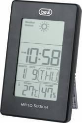 Mini Statie Meteo cu ceas Trevi ME 3104 Negru Termometre si Statii meteo