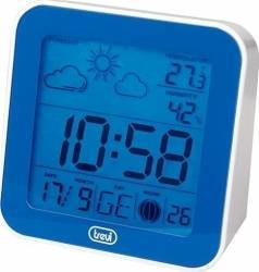 Mini Statie Meteo cu ceas Trevi ME 3105 Albastru Termometre si Statii meteo