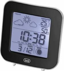 Mini Statie Meteo cu ceas Trevi ME 3106 Negru Termometre si Statii meteo