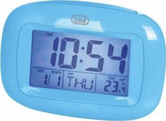 Mini Statie Meteo cu ceas Trevi SLD 3016 Albastru Termometre si Statii meteo