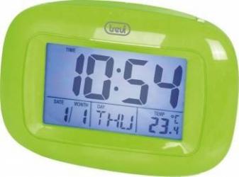 Mini Statie Meteo cu ceas Trevi SLD 3016 Verde Termometre si Statii meteo